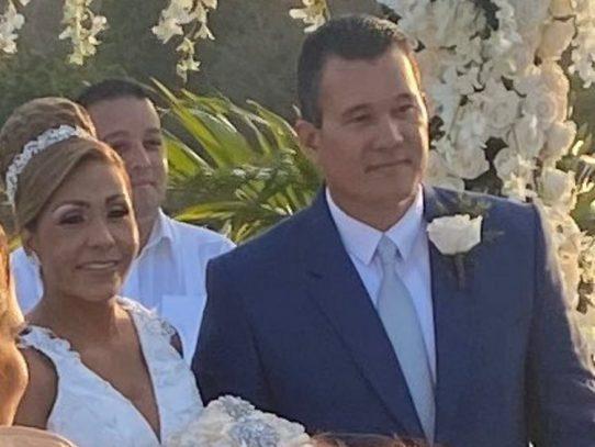 La boda de la diputada Yanibel Ábrego y Quibian Panay en Capira