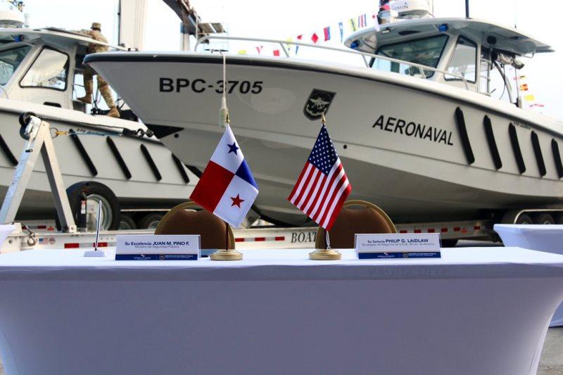 EE.UU. donó a Panamá equipo para el combate al narcotráfico
