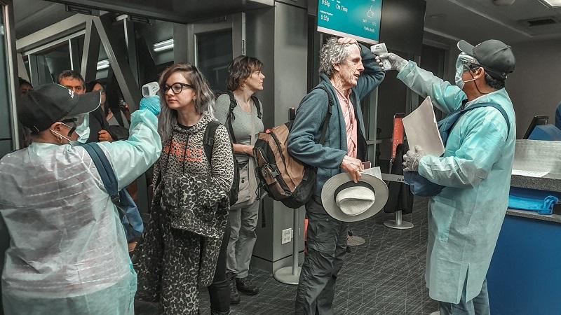Trabajadores del Aeropuerto de Tocumen apoyan acciones contra el coronavirus
