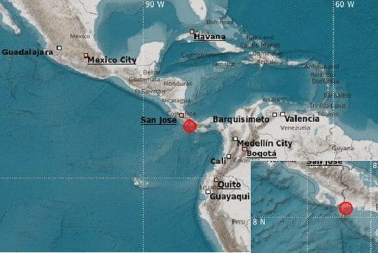 Sismo de magnitud 3.1 sacudió hoy Changuinola