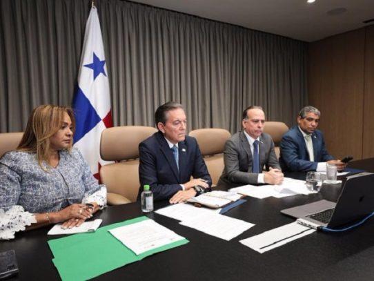 Cortizo se reúne con presidentes del SICA por la protección de la región ante el covid_19