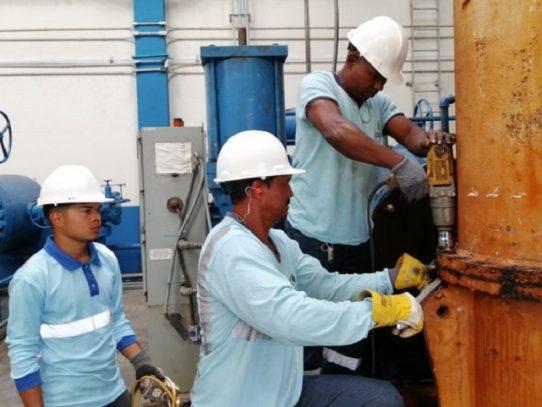 Continúan los trabajos en la planta potabilizadora de Chilibre