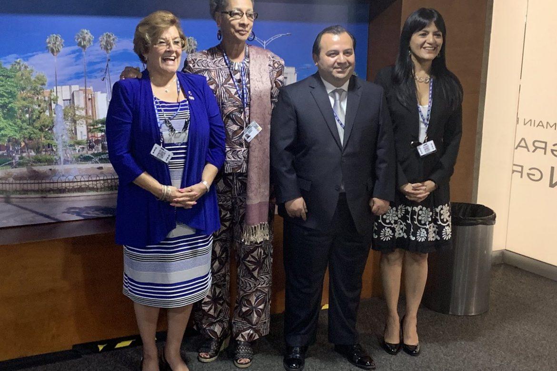 Esmeralda Arosemena de Troitiño se reelige como comisionada de la CIDH