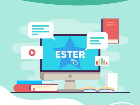 Estudiantes listos para iniciar clases virtuales con ESTER