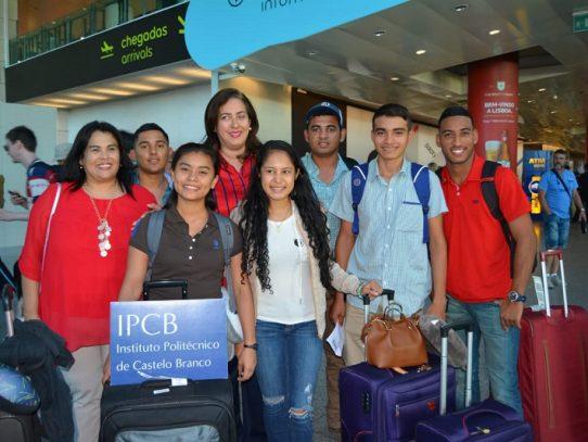 Estudiantes de INA llegaron a Portugal para estudiar agronomía