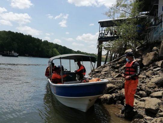Realizan búsqueda de un pescador desaparecido en Isla Cébaco