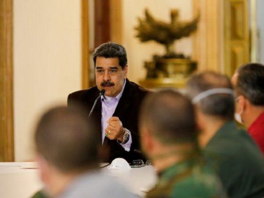 """Maduro anuncia """"cuarentena total"""" en Venezuela por nuevo coronavirus"""