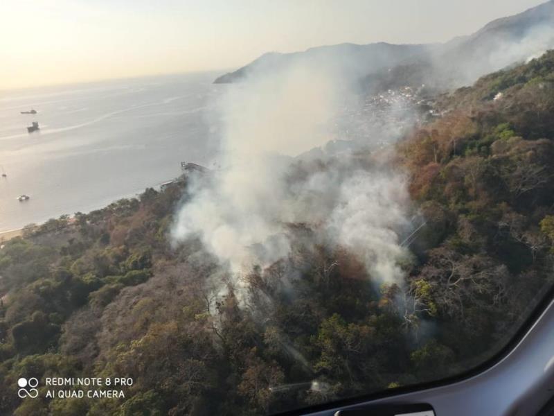 Evalúan conato de incendio en Isla Taboga