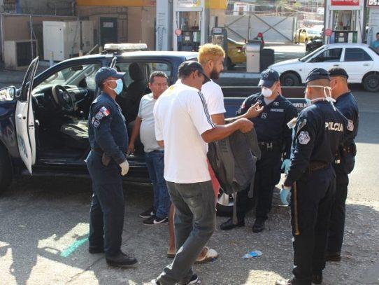 Al menos 700 retenciones en San Miguelito por violar la cuarentena