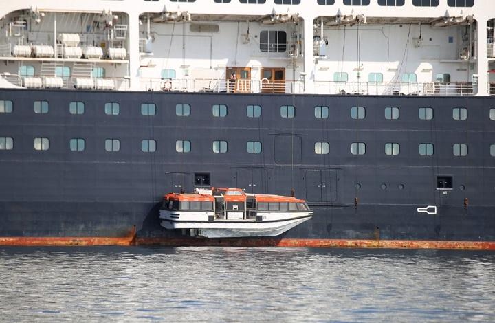Inicia la transferencia de pasajeros asintomáticos del Zaandam hacia el Crucero Rotterdam