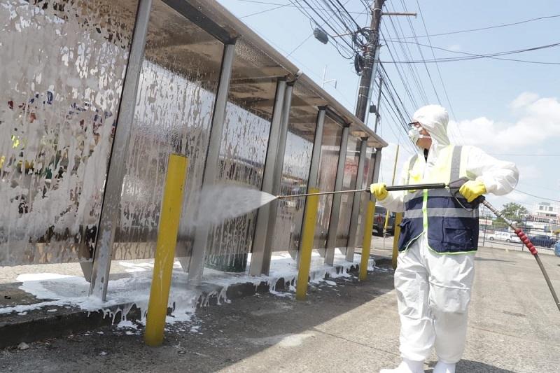 Gobierno y empresa privada iniciarán proceso de desinfección de la Ciudad de Panamá
