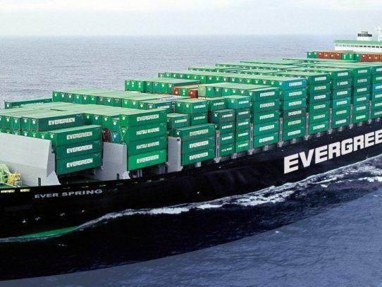 Evergreen comprará seis de los buques portacontenedores más grandes del mundo
