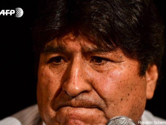 Fiscalía boliviana ordena detener al expresidente Evo Morales
