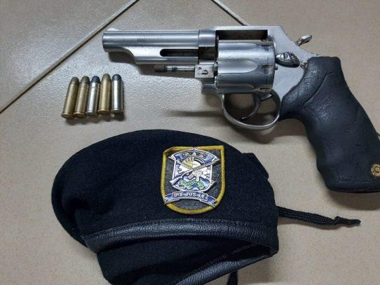 Condenado a 72 meses de cárcel por posesión ilícita de arma de fuego