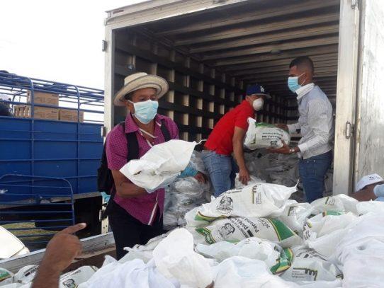 Plan Panamá Solidario ha entregado 3.9 millones bolsas de comida