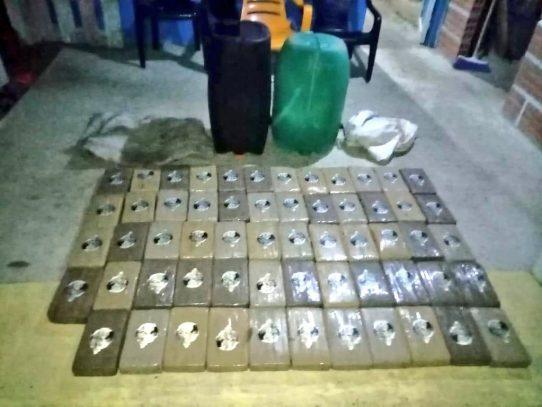 Decomisan 59 paquetes de supuesta droga en la comarca Guna Yala