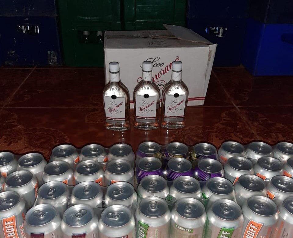 Decomisan 52 cajas de cervezas en Santiago de Veraguas