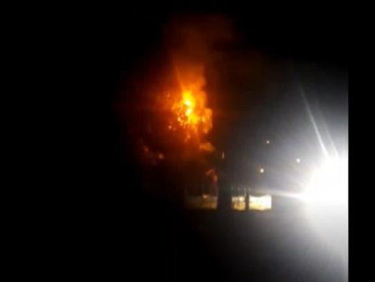 Accidente vehicular deja sin luz Veracruz