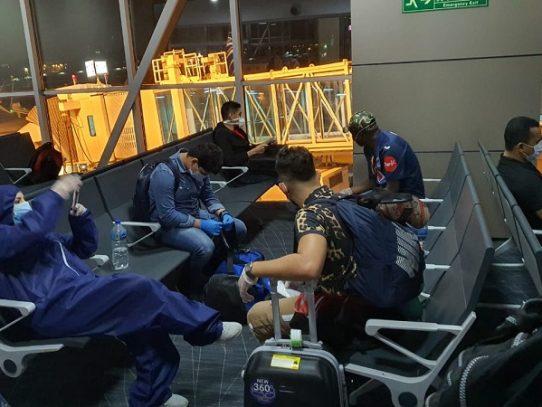 Repatriados hondureños y salvadoreños desde Panamá
