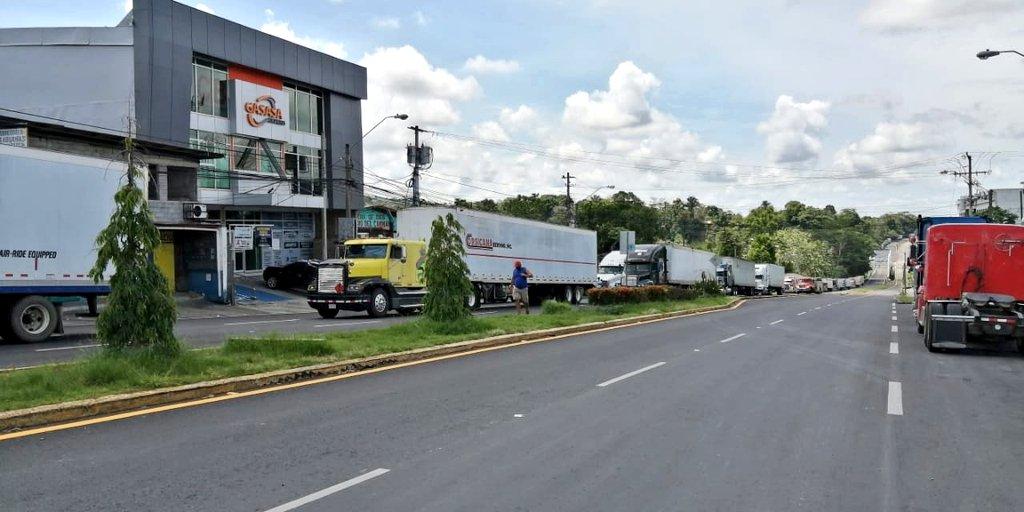 Paso Canoas: Transportistas centroamericanos se unen para sabotear a Costa Rica