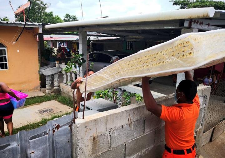 Entregan ayuda humanitaria a familias afectadas por inundaciones en Panamá Oeste