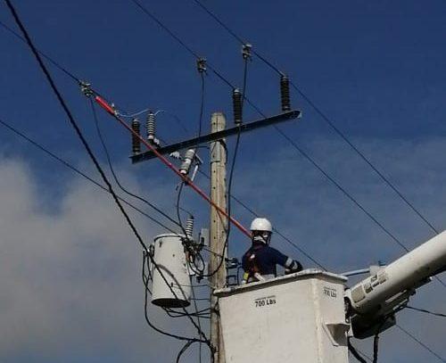 Sectores del oriente chiricano no tendrán luz hoy por trabajos en red eléctrica