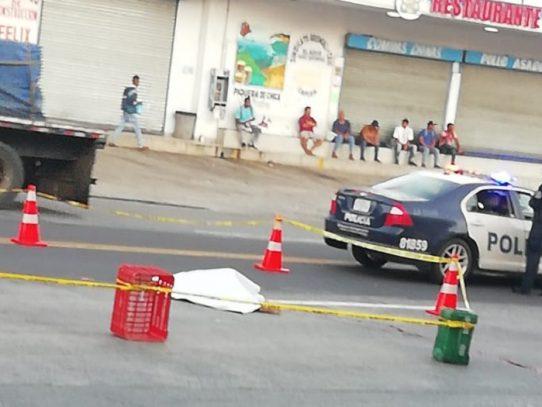 Víctima fatal por atropello en Capira