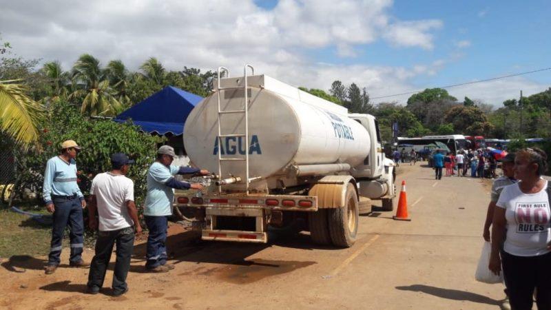 Inicia plan de contingencia para distribución de agua potable en Panamá Oeste