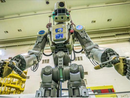 Rusia envía al espacio a Fedor, su primer robot humanoide