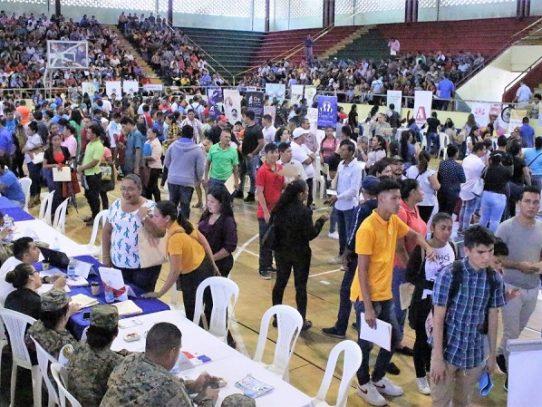 Feria de Oportunidades ofertó más de 500 empleos en Chiriquí