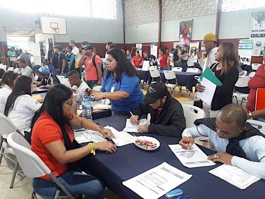Más de 660 vacantes ofertadas en la Feria de Oportunidades en Chilibre