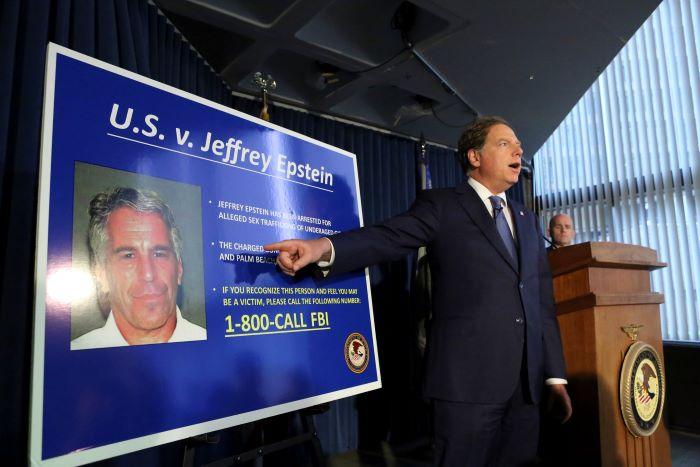 Por qué el gobierno de Trump está involucrado en el escándalo de Jeffrey Epstein