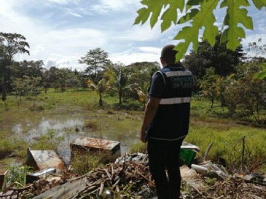 Defensoría del Pueblo atiende queja de residentes de Gold Hill por violación a los derechos al medio ambiente