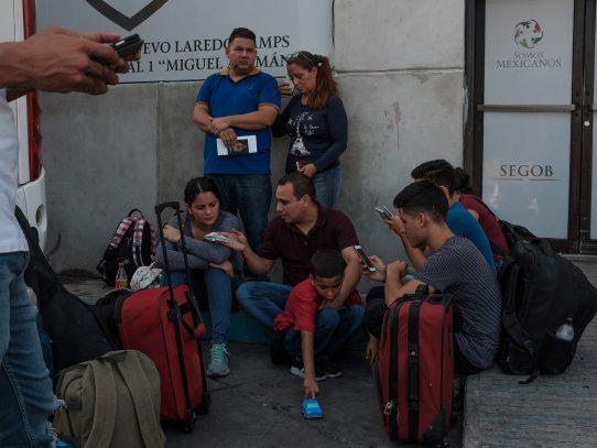 Tribunales migratorios en carpas, la nueva política de Trump