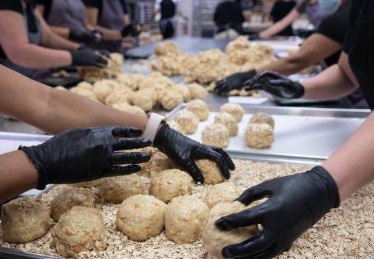 El arte de los lanzamientos de galletas