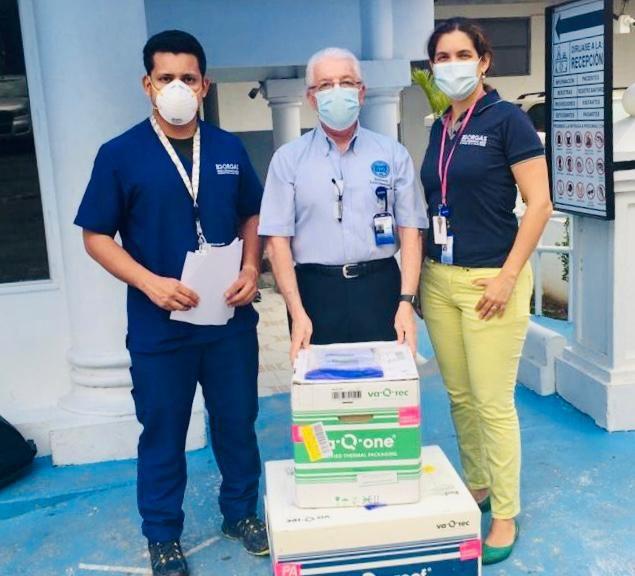 El Instituto Gorgas recibe donación de 10,000 pruebas para detectar Covid-19