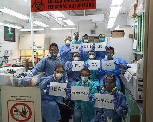 Instituto Gorgas logra secuenciar genoma del nuevo coronavirus que afecta a Panamá