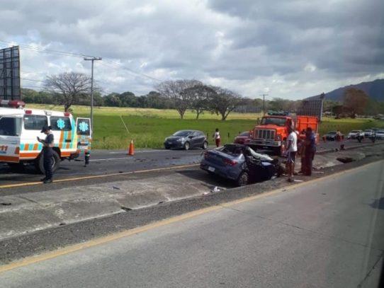 Detención provisional a conductor de camión involucrado en accidente fatal en Gorgona