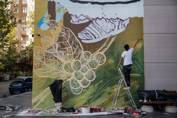 Cuando el grafiti se usa para combatir la injusticia social y para hacer negocios