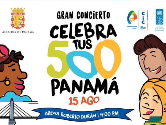 Gran concierto por la fundación de la ciudad de Panamá