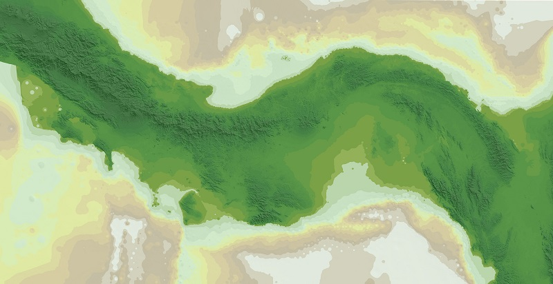 Aumento del nivel del Mar: El istmo de Panamá durante los últimos 26,000 años