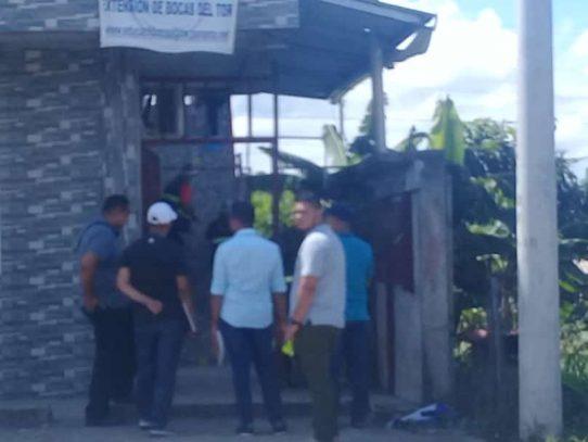 Reportan un homicidio en El Empalme, Bocas del Toro