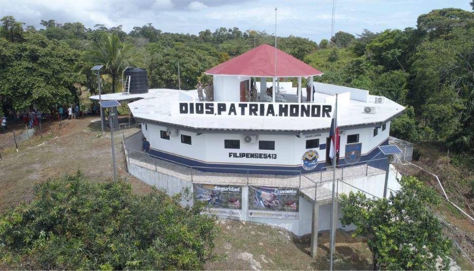 Inauguran nueva base táctica del Senan en Guázaro, Veraguas a un monto de $1,488,347.53