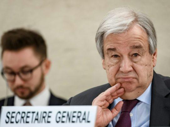 Los derechos humanos son atacados en todo el mundo, afirma Guterres