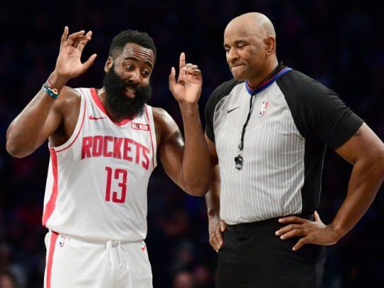 Harden, con otra jornada de lujo en la NBA