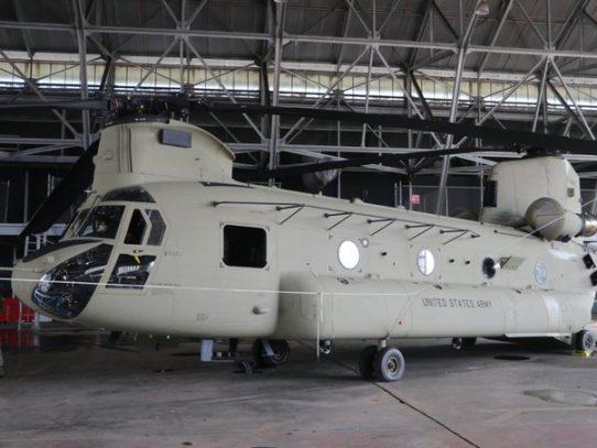 Exhiben helicópteros de la Fuerza de Tarea Conjunta