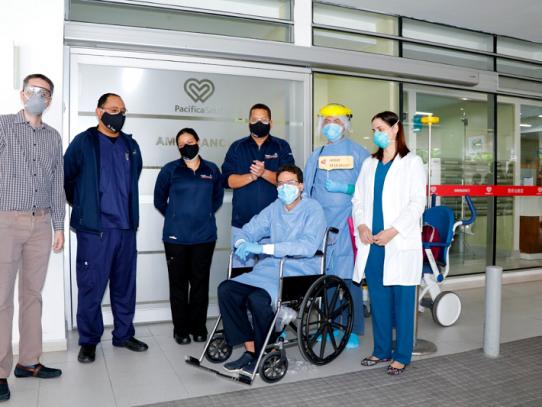 Doctor fue dado de alta tras recibir tratamiento con plasma convaleciente