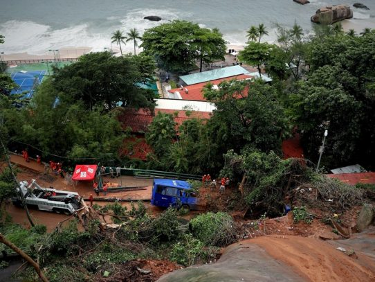 Rio de Janeiro se declara en estado de crisis meteorológica por lluvias