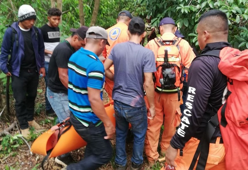 Rescatan a hombre de 48 años que había desaparecido en Veraguas