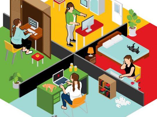 Una oficina en casa sin tener que comprar nada
